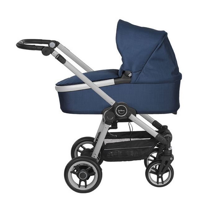 Teutonia Bliss 2016 Kinderwagen 6025 Titanium
